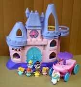 Fisher Price Little People Disney Princess Castle Songs Dance Palace With Coach
