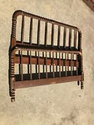 Vintage Jenny Lind Spool Spindle Twin Bed Frame Pu Springfield, Il
