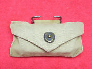 Us Wwii Original First Aid Pouch W/small Carlisle Bauer And Black