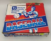 Vintage 1979 Topps Baseball Cello Box 24 Packs Sealed With Stars Showing,