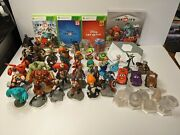 Disney Infinity Figure And Game Lot For Xbox 360 W/ Portal + Extras - Free Ship
