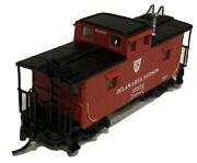 Atlas N Scale 50001208 Cando Cupola Caboose Delaware And Hudson 35872
