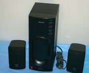Sony Srs-d2 Pc Pc/computer Speakers Sub Woofer Black Model
