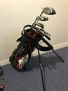 High End Complete Golf Club Set And Bag, Taylormade R7 Xr, Warrior And Nike