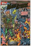 Mars Attacks 1 Gold Foil Logo Variant Cover Signed By Keith Giffen Coa Nm