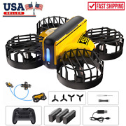 Holy Stone Mini Drone Hand Operated 3d Filps Stunt Rc Quadcopter Kids Toys Gifts