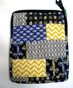 Bella Taylor Vhc Cara Cara Quilted Tablet Ipad Case Cover Zip Up Pouch