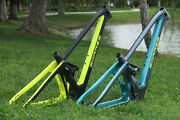 High Quality Carbon 29er Enduro Suspension Mountain Bicycle Frame Without Shock