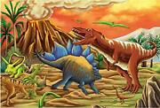 100 Piece Jigsaw Puzzle For Kids Ages 4-8 The Age Of Dinosaur Puzzles For Tod...