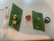 Vtg Boy Scout Bsa Pin And Ring Lot Small Lapel Pins