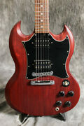 Used Gibson Sg Special Faded 2008 Red Electric Guitar Free Shipping