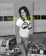 Miss Mooneyes And Vintage Blown Moon Top Fuel Dragster And03960s Era Photo 3