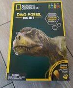 National Geographic Dino Fossil Dig Kit Stem Dino Poop Collector's Corner New