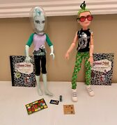 Monster High Deuce Gorgon And Gil Webber Manster Game Night Out Lot