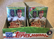 2019 Topps Series 2 Lot Of 8 Blaster Boxes And Display