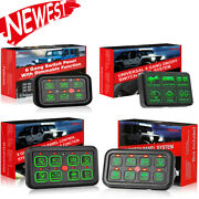 6/8gang Switch Panel Relay Circuit Control System For Led Light Bar Pods 12v Car