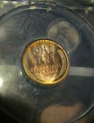 1930-p Anacs Ms65 Red/brown Must See It