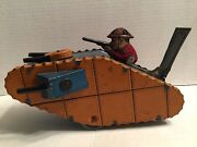 Louis Marx And Co 1930's Toy Die Cast Army Tank