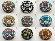 Silk Hats Ships From Usa - Traditional Uzbek Silk Embroidery Hats Best Quality