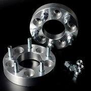 2 Wheel Spacers Adapters 5x4.5 To 5x4.75 | 1.25 | Stud Size 1/2x20