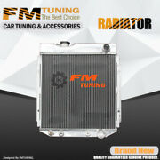Falcon Mustang Comet Radiator For Ford Mercury V8 Aluminum At/mt 3row 62mm 259b