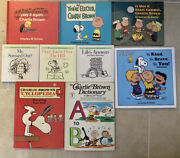 Peanuts Charlie Brown Books By Charles M. Schulz, Lot Of 31 Mixed See Pics