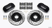 Wilwood Dpha Front Caliper And Rotor Kit Drilled For Honda / For Acura W/ 262mm Oe