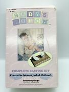 New Babyand039s Touch Complete Casting Kit Molding Powder Hand Or Foot Baby Memories