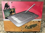 New Wacom Bamboo Craft - Pen And Touch - Model Cth-461