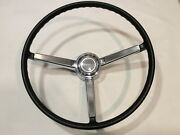 1968 Chevy Chevelle Steering Wheel Horn Ring And Horn Cap Button Vintage Oem