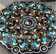 48 Inches Royal Look Marble Restaurant Table Top Stone Dining Table Home Decor