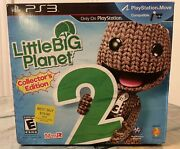 Little Big Planet 2 Collectors Edition Playstation 3 Game Book Ends Sackboy Ps3
