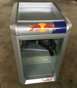 Red Bull Glass Door Countertop Rb-gdc Eco Led Display Refrigerator New