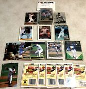 Vintage Mlb Promo Baseball Cards Lot Of 150 Factory Sealed With Coas Mint