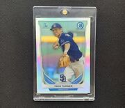 2014 Bowman Chrome Prospects Trea Turner Refractor Rookie Rc Non Auto Bcp10 Qty