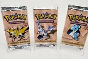 Authentic Pokemon Fossil Set Pack - Sealed Pick Your Artwork