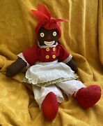 Beloved Belindy 18andrdquo Rag Doll Signed By Gruelle Family Sands Raggedy Ann Cloth Rare