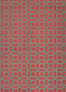 Couristan Bowery 9and0395 X 13and0394 Rectangle Area Rugs In Crimson/brown