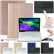 Touchpad 2020 Ipad 8/7th 10.2 Air 4 10.9 3rd Pro Bluetooth Keyboard Leather Case