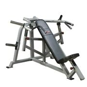 Body Solid Pro Club Lvip Leverage Incline Chest Press   Plate Loaded Machine