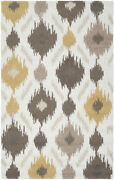 Surya Bnt-7676 Brentwood Transitional Hand Hooked - Synthetic Cream Area Rugs