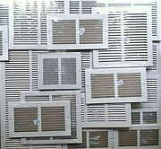 Air Grilles New Choose Size Wall/ceiling/floor Metal Returns White Vent Cover