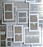 New Air Grille Hvac Metal Choose Size Wall/ceiling/floor Return Vent Cover White