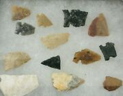 Arrowheads Artifacts Neolithic 3d Frame Miscellaneous Scrappers, Fleshers, Drill