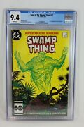 Dc 1985 Saga Of The Swamp Thing 37 1st Appearance John Constantine Cgc 9.4