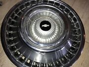 Vintage / Antique '64 Chevy Wheel Covers 14 Inch Wheel Four Pristine
