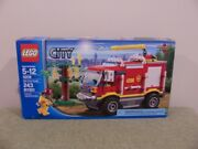 New Sealed Lego City 4x4 Fire Truck 4208