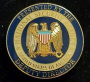 Us National Security Agency Nsa Deputy Director Challenge Coin