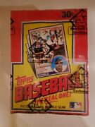 1983 Topps Baseball Cards Unopened Wax Pack Box Bbce Authenticated