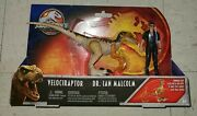 Jurassic World Park Legacy Collection Story Pack Ian Malcolm Gfh13 Velociraptor